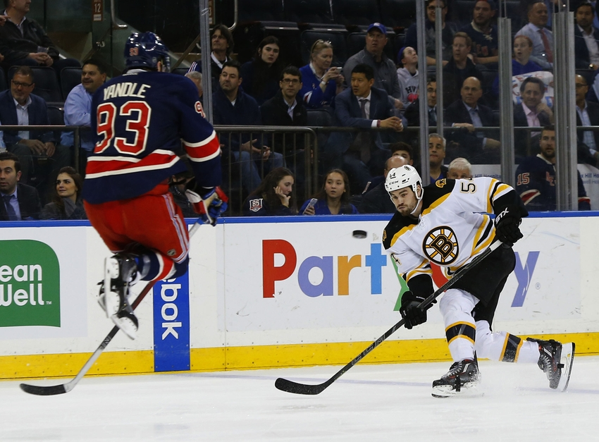 Boston Bruins: Adam McQuaid Has a Healthy Offseason