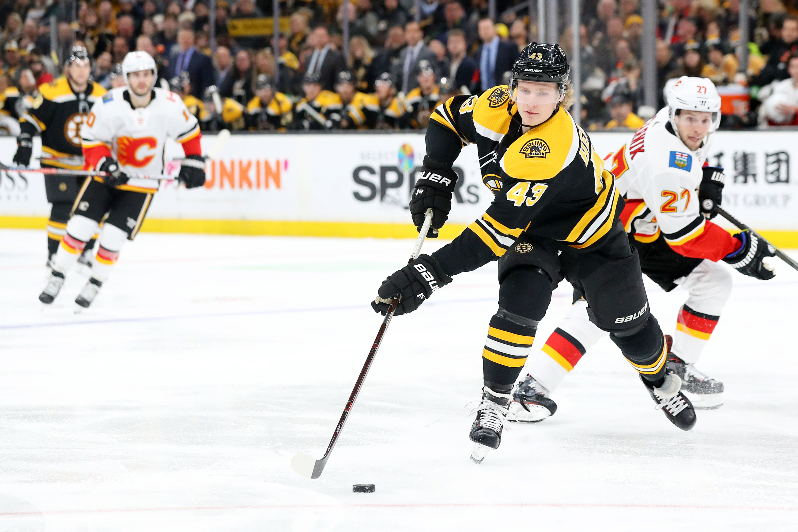 Boston Bruins: The depleted Calgary Flames defense has to be targeted