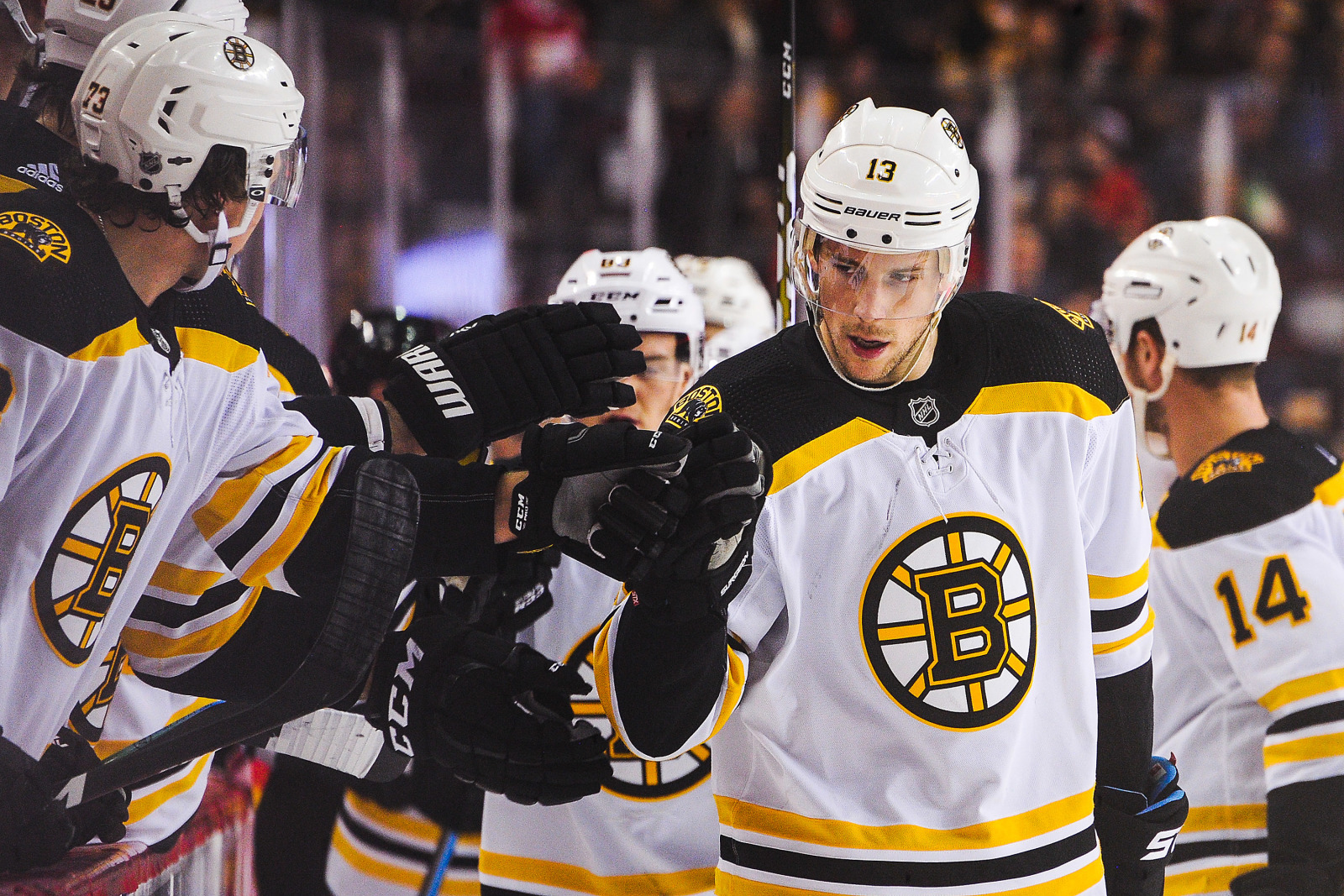 Boston Bruins: Charlie Coyle a huge difference in win over Flames