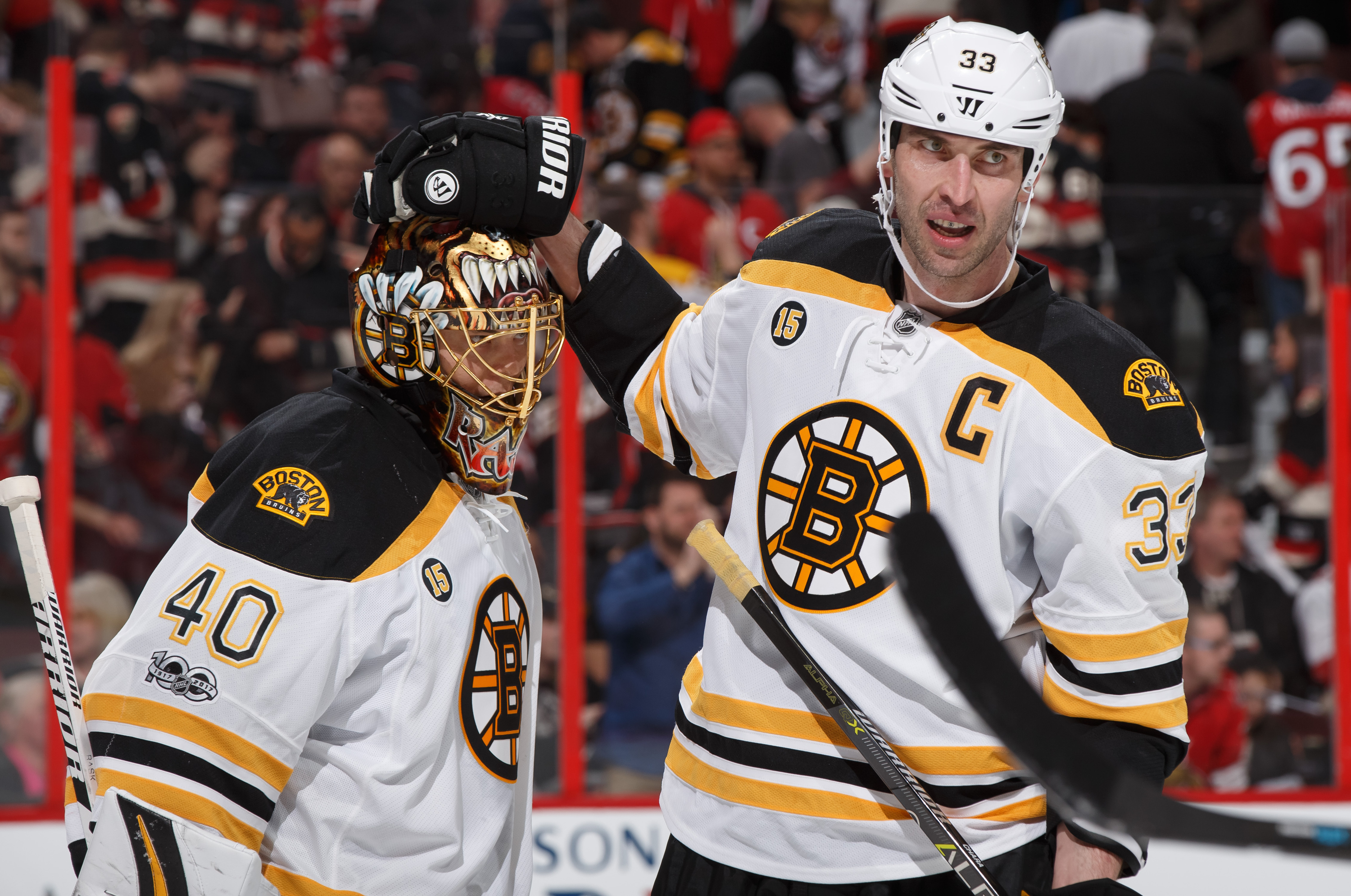 Bergeron's Status Unclear For Bruins Opener: 'We'll See What Happens'