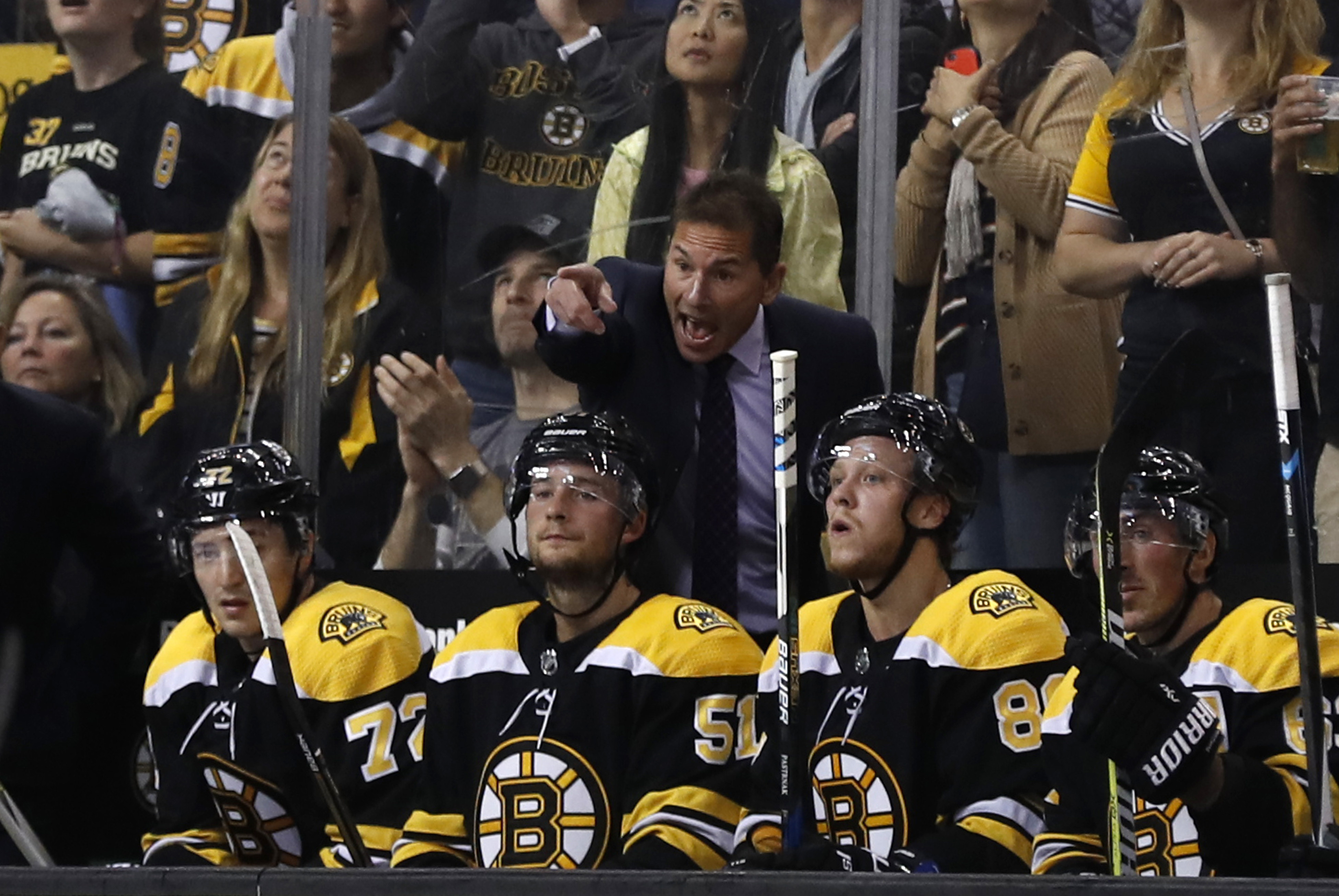 The Boston Bruins Rookie Trio The Kids Are Alright So Far