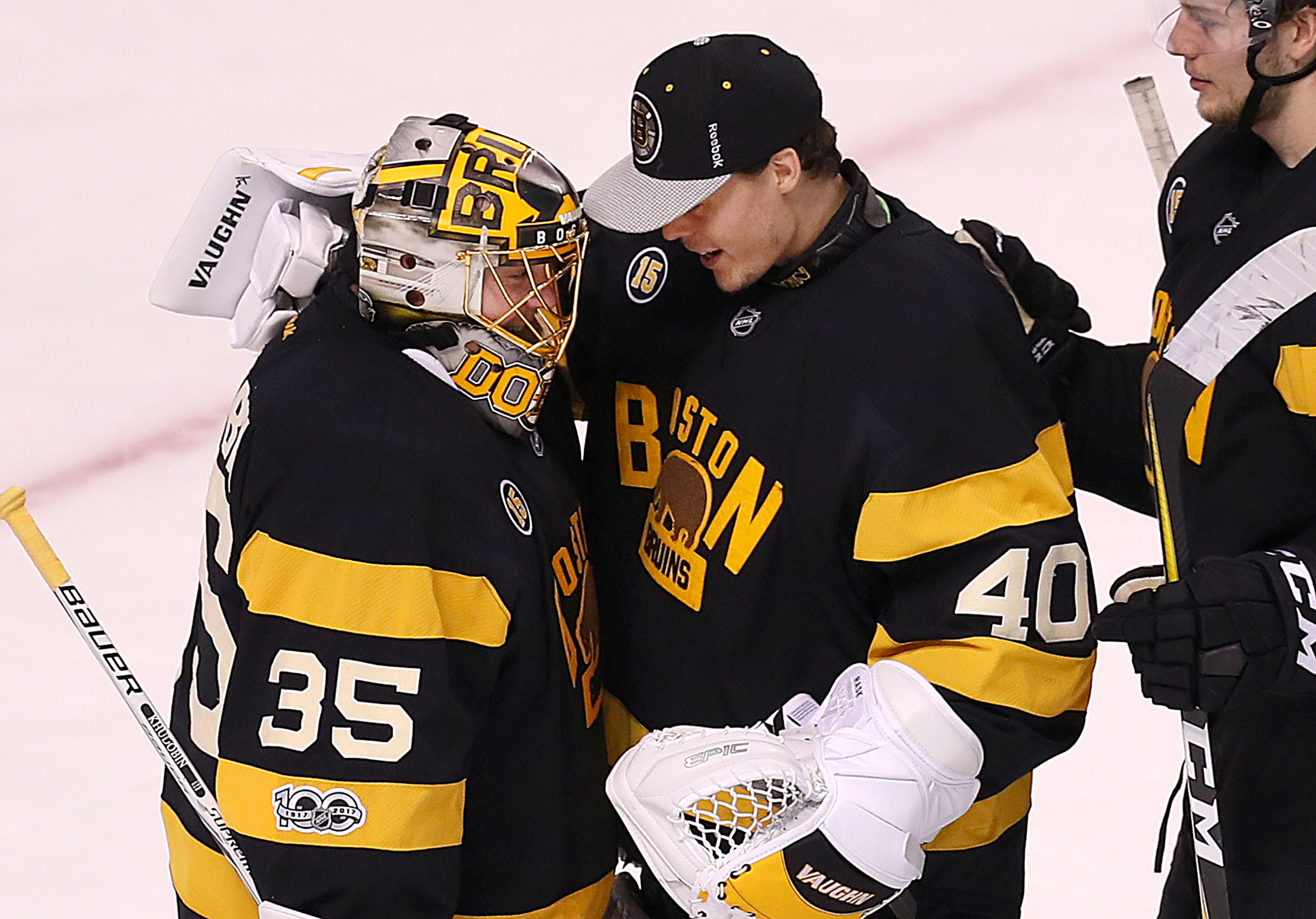 Tuukka Rask named NHL First Star of the Month