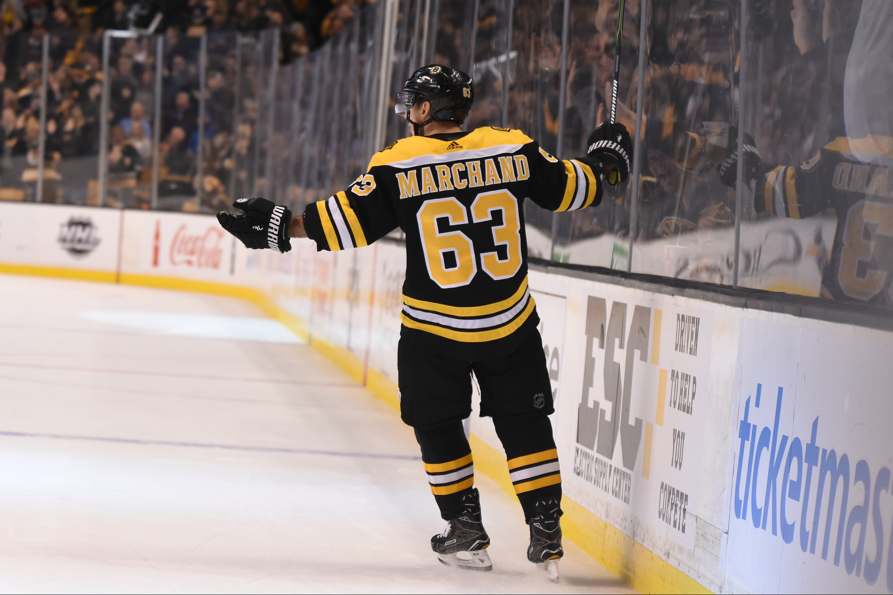 Brad Marchand Suspended 5 Games For Elbowing Marcus Johansson